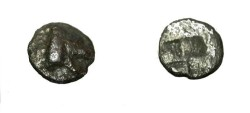 Ancient Coins - Northern Greece Unknwn Mint 6th Century BC - 5th AR Trinemitartemorion