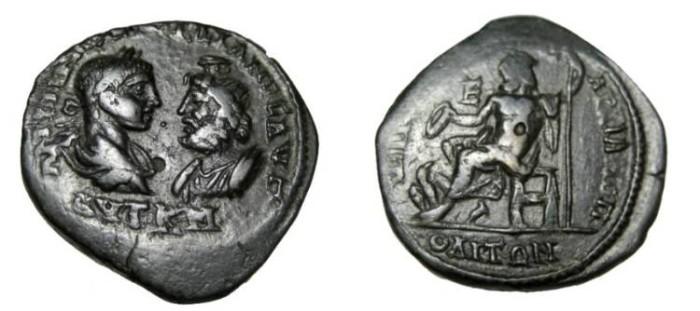 Ancient Coins - Gordian III & Sarapis 238 - 244 AD Marcianopolis Moesia Inferior AE27