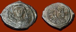 Ancient Coins - Maurice Tiberius 582-602AD