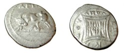 Ancient Coins - Appolonia, Illyria, minted ca 229-30 BC moneyer ΑΓΙΑΞ   magistrate ΕΠΙΚΑΔΥ