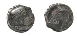 Ancient Coins - Western satraps (India) 2nd Century AD, AR Drachm INCUSE REV