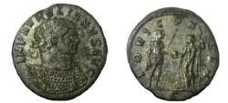 Ancient Coins - Aurelian 270-275 AD Antoninianus IOVI Conser