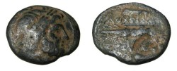 Ancient Coins - Seleukid Kings Antiochus I 280-261BC AE19 S-6880