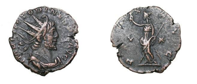 Ancient Coins - Victorinus 268-270 AD, AE Antoninianus