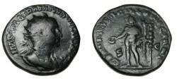 Ancient Coins - Trajan Decius 249-257AD Dupondius Genius Exerc Illuriciani RIC 117