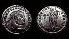 Ancient Coins - Galerius 293-311 AD AE Follis