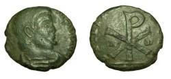 Ancient Coins - Magnentius 350-353 AD AE Centenionalis Chi Rho Rev