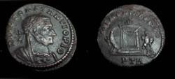 Ancient Coins - Divus Constantius AE Follis. Lugdunum Mint A.D. 307-8