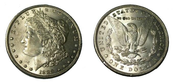 Ancient Coins - 1889 Morgan