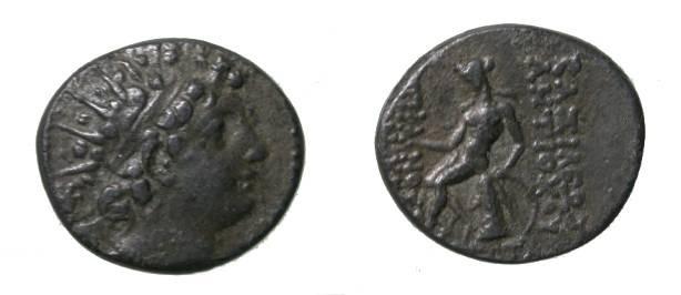Ancient Coins - Syria Antiochus VI AE20 143-142 BC