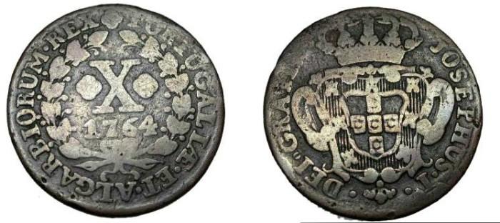 World Coins - Portugal 1794 10 Reis KM #243.2