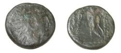 Ancient Coins - Seleukid Kings Alexander I Balas 150-145 BC AE19 S-7039
