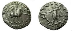 "Ancient Coins - Indo-Skythians Vonoes ""Great King"" Ca 100-65 BC AR Tetradrachm"