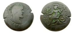 Ancient Coins - Roman Egypt Alexandria Antoninius Pius 138-161 AD AE Drachm