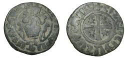 World Coins - Armenia Hetoun I 1226-1270 AD AE tank Nercessian 351