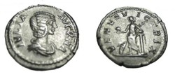 Ancient Coins - Julia Domna wife of Septimus Severus AR Denarius Venus S-1851