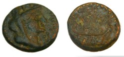 Ancient Coins - Phoenicia Sidon Time of Domitian AE 13