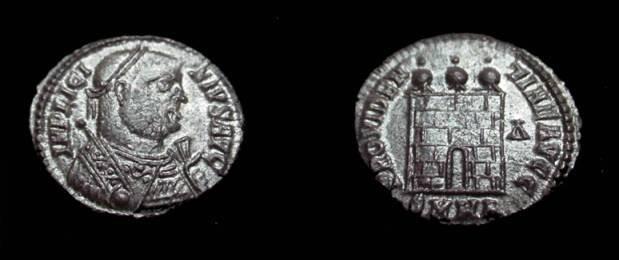 Ancient Coins - Licinius AE3 308-324 AD