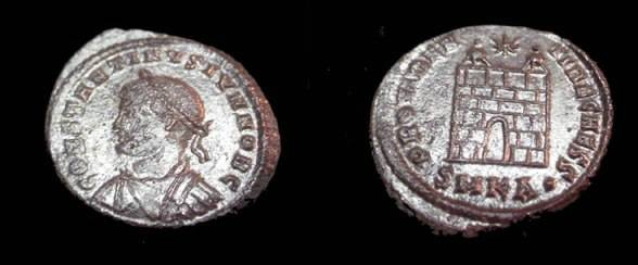 Ancient Coins - Constantine II AE3 316-340AD
