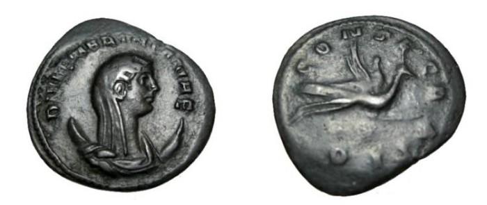 Ancient Coins - Mariniana, the wife of Valerian I. AR Antoninianus, 253 - 257 RSC16, S2829