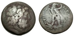 Ancient Coins - Ptolemaic Kingdom Ptolemy IV 221-204 BC AE38 S-7842
