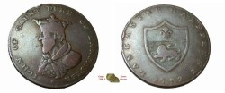 World Coins - Great Britain 1792  Condor Token John of Gault Duke of Lancaster
