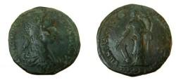 Ancient Coins - Elagabulus AE 25 Nicopolis ad Istrum Tyche 218-222 AD