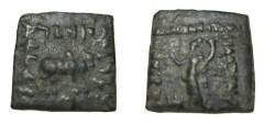Ancient Coins - Bactria Phlyoxenos Ca. 110-80 BC AE Hemi-obol S# 7666