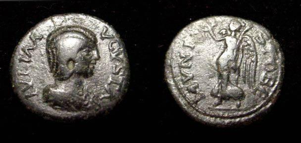 Ancient Coins - Julia Domna  217AD