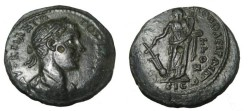 Ancient Coins - Gordian III 238-244 AD Nicopolis as Istrum AE27 Tyche w anchor