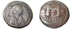 Ancient Coins - Justinian I 527-565 AE Follis Theoupolis