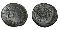 Ancient Coins - Augustus AE Dupondius AUGUSTUS TRIBUNE POTEST in Brass RIC 387