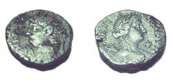 Ancient Coins - Nero AR Tetradrachm Apollo Aktios R.