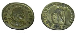 Ancient Coins - Crispus 317-326 AD AE3 3.10gm