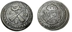 World Coins - Sweden Christina 1632-1654 Avesta 1 Ore 1649 MDCXLIX KM# 162.2