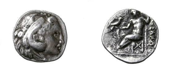 Ancient Coins - Macedonia Alexander III 336-323BC AR Hemidrachm