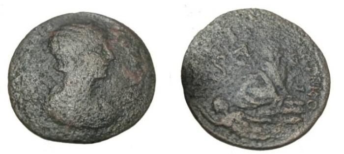 Ancient Coins - Syria Antiochia Julia Mamera 235 AD AE31 S-3480