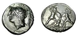 Ancient Coins - Q THERMUS M.f.  103BC AR Denarius