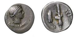 Ancient Coins - NORBANA C. Norbanus 83 BC