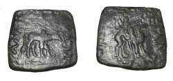 Ancient Coins - Indo-Skythian Azes I Ca 57-35 BC AE TriChalkon Taxila Senior 8120 R! King on Camel
