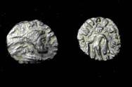 Ancient Coins - Kapisa Puhkalai local imitation of Kajul;a Kadphines