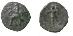 Ancient Coins - Kushan 1st - 2nd Century AD  AE Imitation