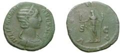 Ancient Coins - Julia Mamae 268 - 270 AD Ae Sestertius