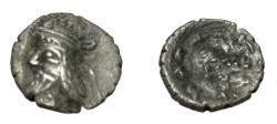 Ancient Coins - Persis Kapat son of Namopat 1st - 2nd Century AD AR Obol S# 5953