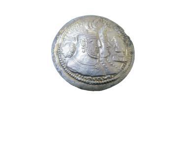 Ancient Coins - Sassanian Vahran II 3 busts  274-293 AD  AR Drachm  Gobl vII/I SNS VI/I