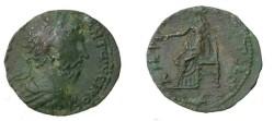 Ancient Coins - Marcus Aurelius Ae 23 Amphilopolis in Macedonia 161-180 AD SNG Cop 105