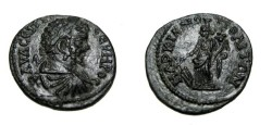 Ancient Coins - Septimus Severus 193-211 AD AE 21 Marcianopolis Moesia Inferior Tyche/ Fortuna