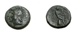 Ancient Coins - Seleukid Kings Antiochus I Soter 280-261 BC AE12 Houghton 352