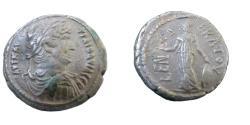 Ancient Coins - Roman Egypt  Hadrian Billion Tetradrachm Yr 11 127/128 Bust Hadrian Right