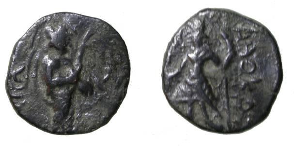 Ancient Coins - Kushan Kanishka 130 - 158 AD  1/4 unit